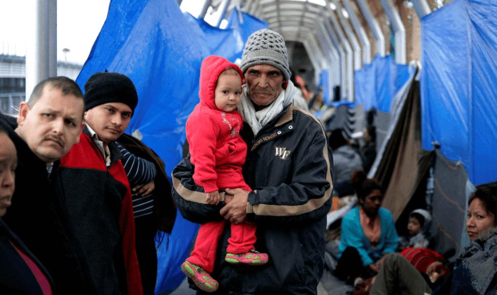 Foto: Migrantes en Reynosa, Tamaulipas, 14 de marzo de 2019, Tamaulipas