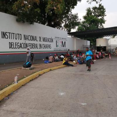 Escapan otros dos cubanos de estación migratoria en Tapachula, Chiapas