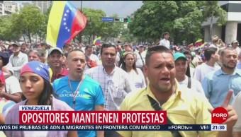 FOTO: Miles marchan contra Maduro en el Día del Trabajo en Venezuela, 1 MAYO 2019