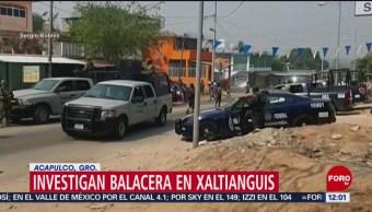 Militares resguardan Xaltianguis, Guerrero, tras balacera