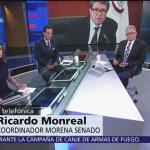 Monreal: En mínimo seis meses se implementará la organización de la Guardia Nacional