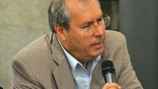 Foto: El diputado argentino Héctor Olivares, mayo 12 de 2019 (Twitter: @diputadosucr)