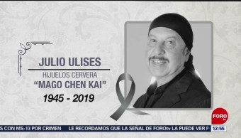 Muere el mago Chen Kai a los 73 años