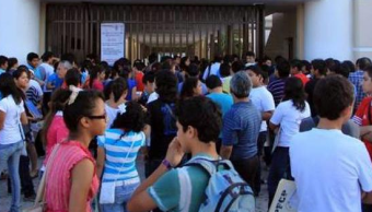 FOTO Neoliberalismo rechazaba a estudiantes de universidades porque no había cupo, dice AMLO (pulso peninsular archivo)