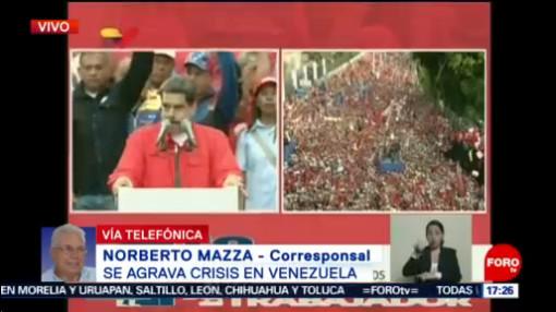 FOTO: Nicolás Maduro reconoce que ha cometido errores, dice reportero, 1 MAYO 2019