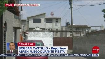 FOTO: Cinco muertos tras pelea durante una fiesta en el municipio de Coacacalo, 25 MAYO 2019