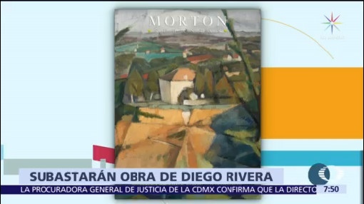 Obra de Diego Rivera encabezará subasta de la casa Morton