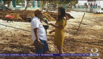 """Omar Vázquez, el """"señor sargazo"""" en Al Aire"""