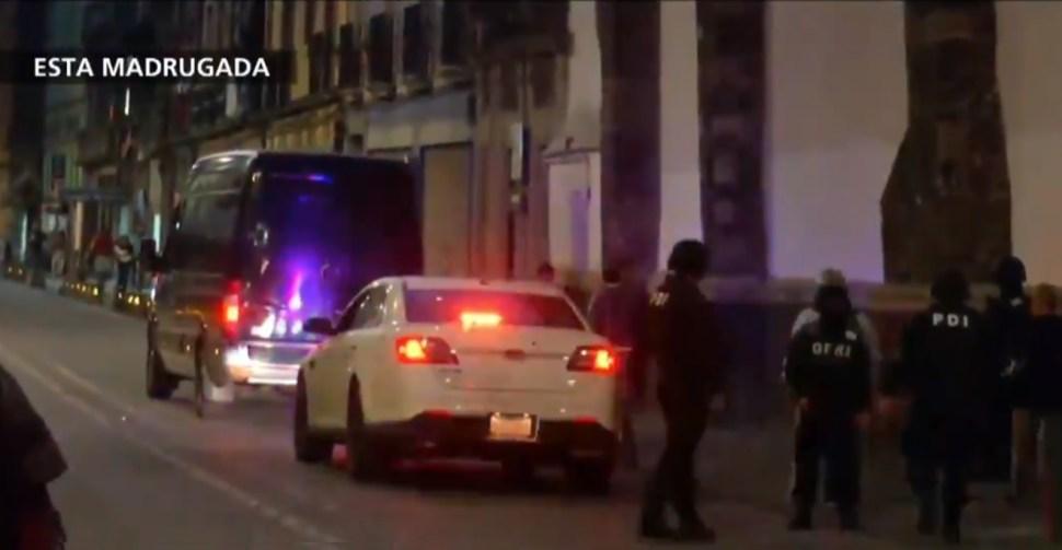 Foto: Operativo policíaco en la Plaza de Santo Domingo, en la Ciudad de México, 8 mayo 2019