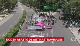 Foto: Pacientes Con Vih Protestan Desabasto Antirretrovirales 2 de Mayo 2019