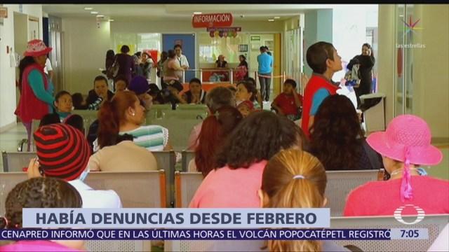 Pacientes del Hospital Infantil de México denuncian deficiencias por recorte presupuestal