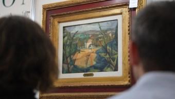Un Diego Rivera de un millón de dólares encabeza subasta de arte en México