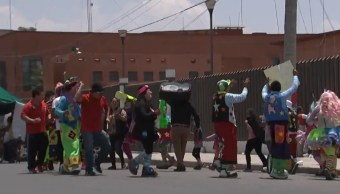 Foto: Decretan prisión preventiva justificada a payasos detenidos el pasado miércoles en Ciudad Nezahualcóyotl, Edomex, acusados de intentar secuestrar a una menor de edad, mayo 26 de 2019 (FOROtv)