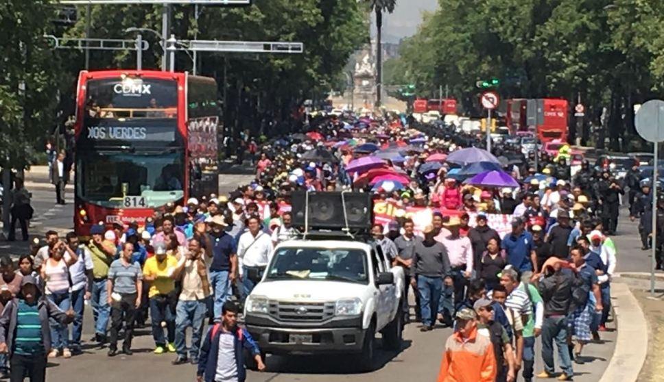Foto Pese a contingencia ambiental, marchas afectarán la CDMX.