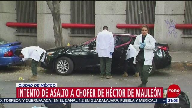 Foto: Asalto Chofer Héctor De Mauleón 6 de Mayo 2019