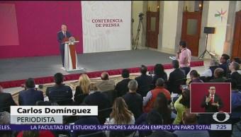 Piden a AMLO justicia en caso del periodista Carlos Domínguez