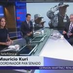 Policía de la Guardia Nacional no tendrá un aspecto castrense, dice Mauricio Kuri