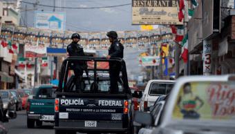 Foto: Policía Federal en Michoacán, 8 de enero de 2015, México