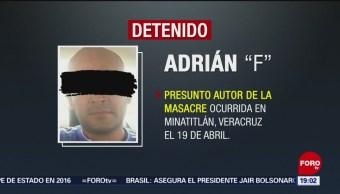 Foto: Adrián F El Pelón Autor Masacre Minatitlán Trabajador Pemex 3 de Mayo 2019