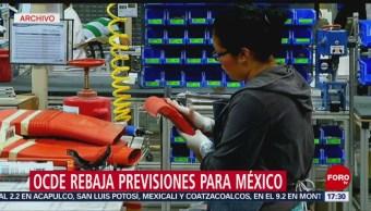 FOTO: Previsiones de OCDE para el crecimiento económico de México