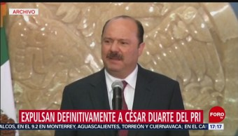 Foto: PRI expulsa definitivamente a César Duarte