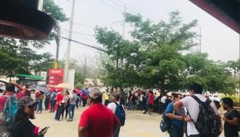 Foto: protesta de la CNTE en Chiapas, 16 de mayo 2019. Twitter @AlertaChiapas