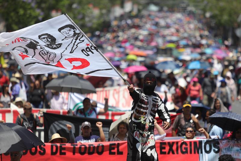 Foto: Marchas por el Día del Trabajo, 1 de mayo 2019. EFE