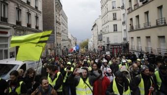 Foto: Chalecos amarillos volvieron este sábado en Francia a las rotondas, 4 mayo 2019