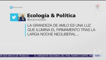 ¿Quién es Víctor Manuel Toledo, nuevo secretario de Semarnat?