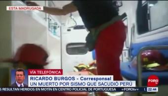 FOTO: Realizan puente aéreo para zonas más afectadas por sismo en Perú, 26 MAYO 2019