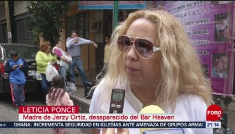 """FOTO: Recuerdan a jóvenes desaparecidos del bar """"Heaven"""", 26 MAYO 2019"""