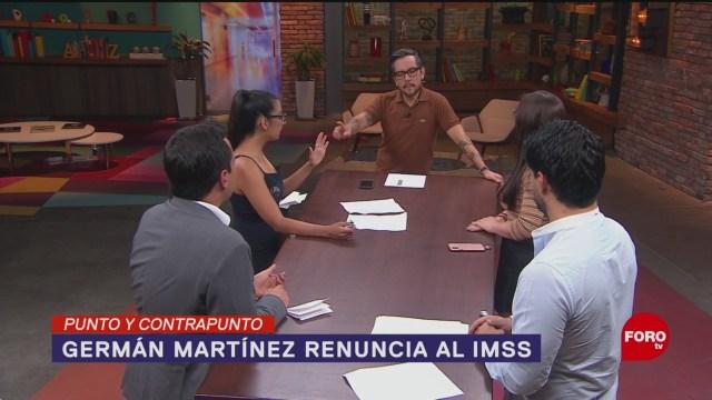 Foto: Renuncia Germán Martínez Director IMSS 21 Mayo 2019