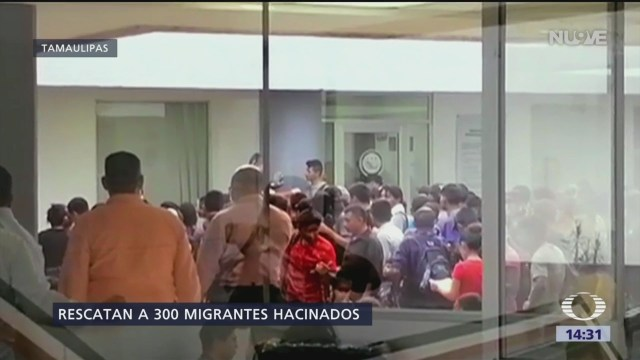 Foto: Rescatan a casi 300 migrantes en Tamaulipas