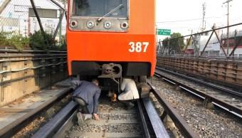 Foto Rescatan a perro Metro Constitución 29 mayo 2019