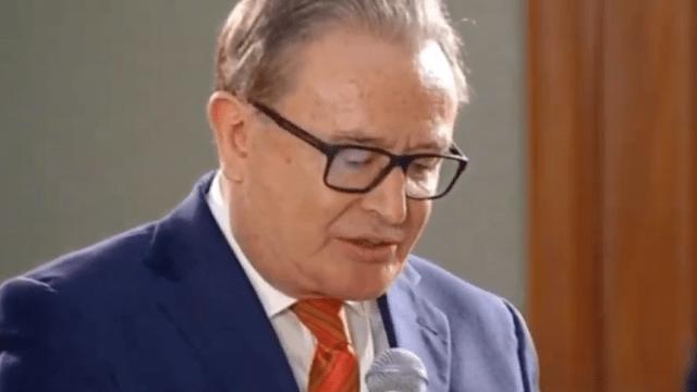 FOTO Ricardo Rocha reclama a AMLO por lista de periodistas (YouTube 28 mayo 2019 cdmx)