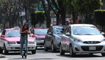 Foto: Autos circulando en la Ciudad de México, 23 mayo 2019