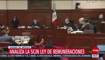 Foto: Scjn Analiza Ley De Remuneraciones 13 de Mayo 2019