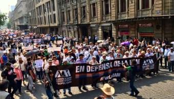 Foto Se cumplen tres meses de huelga en la UAM 1 de mayo 2019