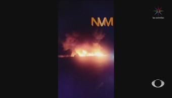 Foto: Explosión Ducto Pemex Toma Clandestina Parras Coahuila 28 Mayo 2019