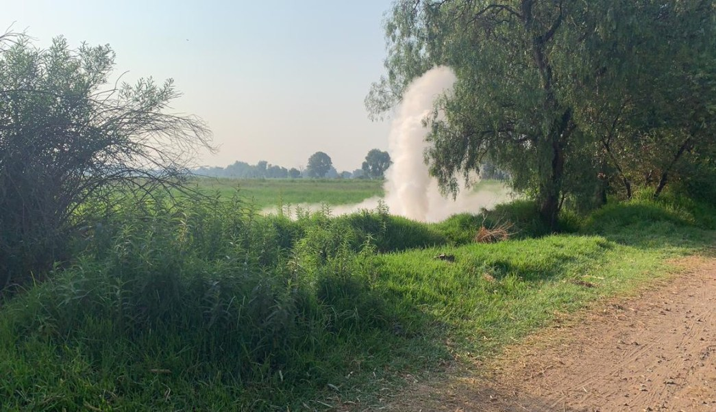 Foto Se registra fuga de gas LP en Coronango, Puebla 21 mayo 2019