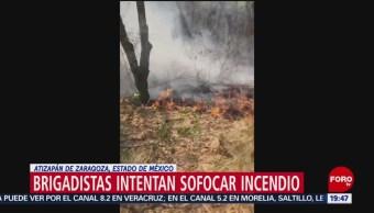 Foto: Incendio Forestal Atizapán Edomex10 de Mayo 2019