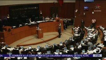 Senador de Morena dejó votación de reforma educativa por accidente de hija