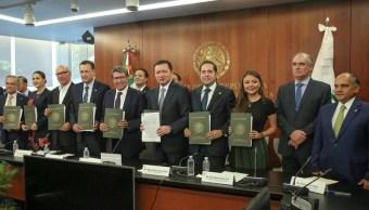 Guardia Nacional: Senadores anuncian respaldo unánime a leyes secundarias