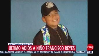 Foto: Sepultan a Francisco, de 12 años, víctima en Tlahuelilpan