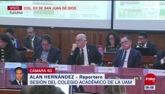 Sesiona Colegio Académico de la UAM