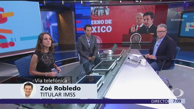 Situación actual en el IMSS es grave, pero no hay crisis: Zoé Robledo
