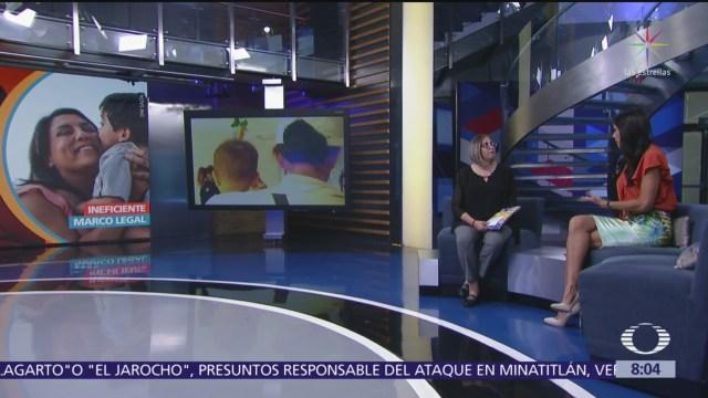 Sociedad que no cuida a sus niños no cuida su futuro, dice Especialista