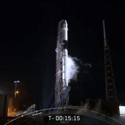 SpaceX lanza cohete con cápsula con suministros para la Estación Espacial