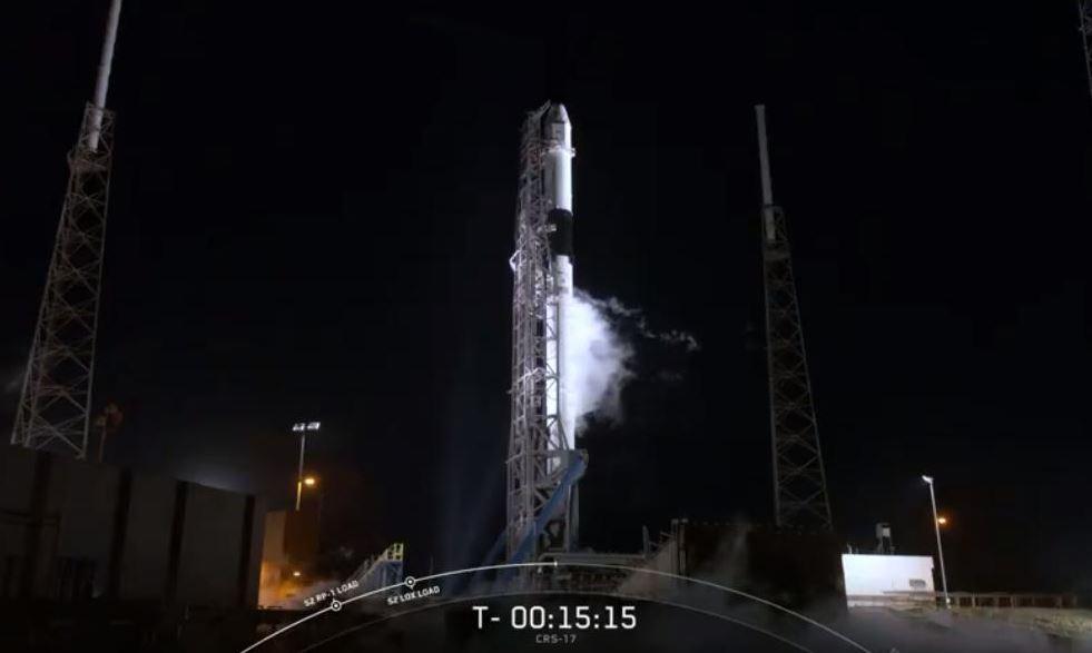 Foto: La compañía aeroespacial SpaceX lanzó un cohete Falcon 9, 4 mayo 2019