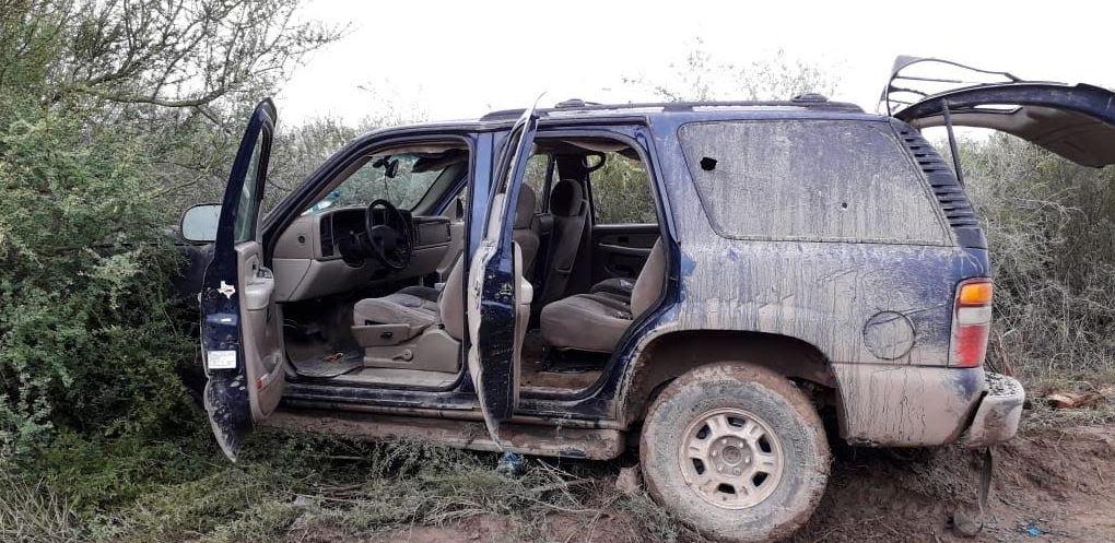 Foto: Los vehículos y armamento fueron puestos a disposición de la autoridad ministerial, el 11 de mayo de 2019 (SSP Tamaulipas)